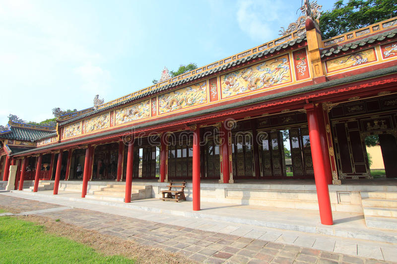 Hue Complex of Hue Monuments in Vietnam stock photos