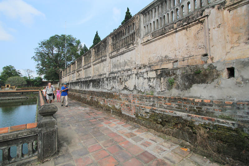 Hue Complex of Hue Monuments in Vietnam royalty free stock photos