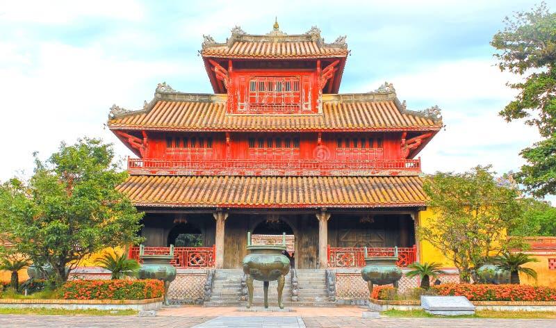 Hue Forbidden City ingång arkivbilder