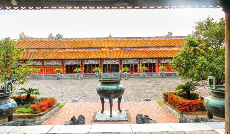 Hue Forbidden City ingång fotografering för bildbyråer
