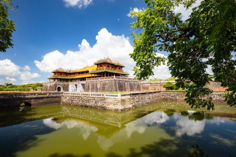 Hue Imperial Citadel stockfotografie