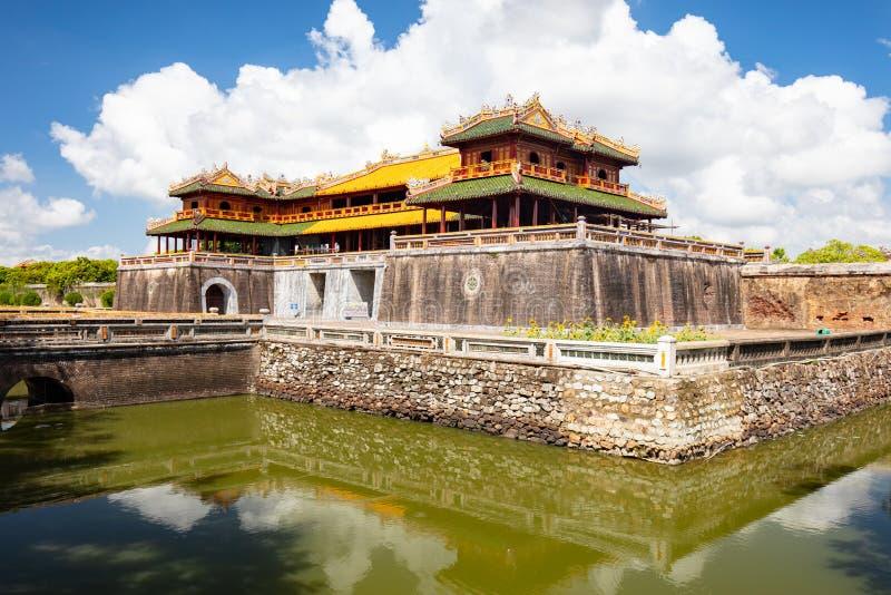 Hue Imperial Citadel lizenzfreies stockfoto