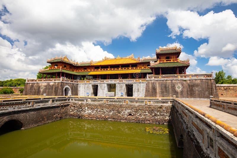 Hue Imperial Citadel stockbild