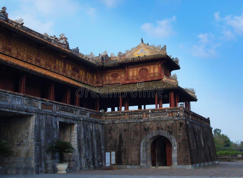 Hue Imperial City (la ciudadela), tonalidad, Vietnam. Mundo Heri de la UNESCO foto de archivo