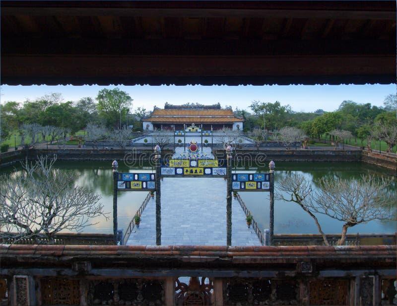 Hue Imperial City (la ciudadela), tonalidad, Vietnam. Mundo Heri de la UNESCO foto de archivo libre de regalías