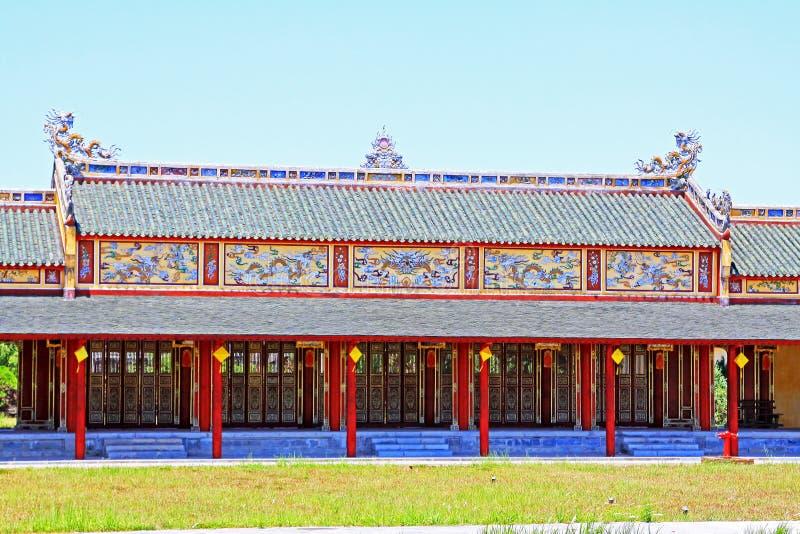 Hue Imperial City, patrimônio mundial do UNESCO de Vietname imagens de stock royalty free