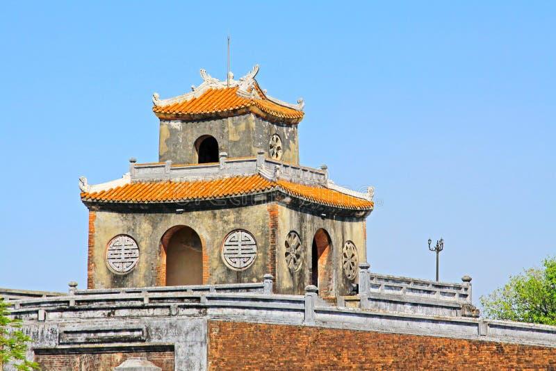 Hue Imperial City, patrimonio mundial de la UNESCO de Vietnam foto de archivo