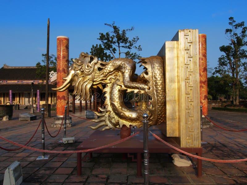 Hue Imperial City (sello) del rey, tonalidad, Vietnam. Mundo Herita de la UNESCO fotos de archivo