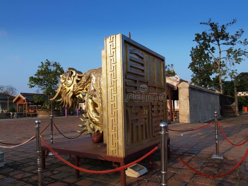 Hue Imperial City (sello) del rey, tonalidad, Vietnam. Mundo Herita de la UNESCO imagen de archivo