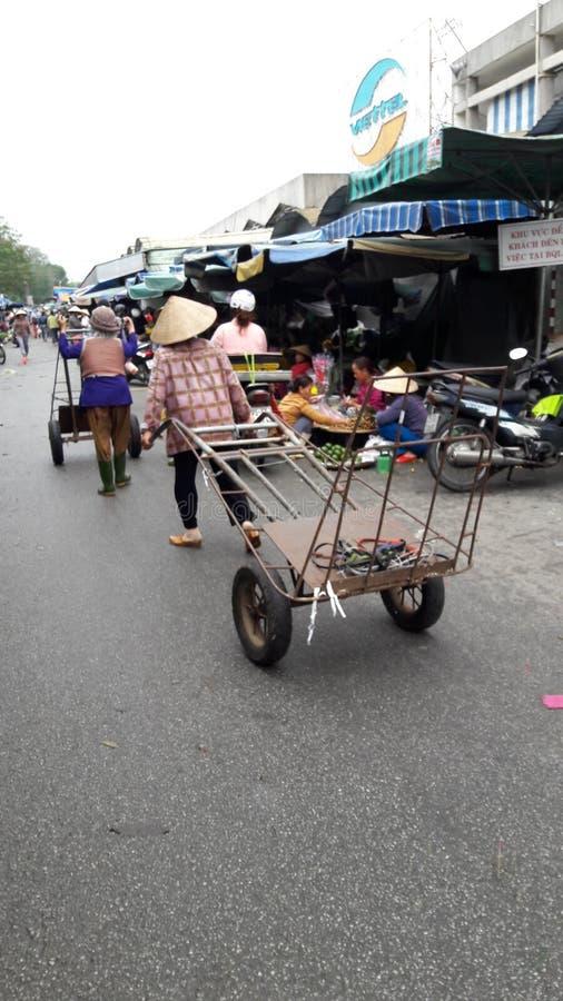 Hue market royalty free stock photography