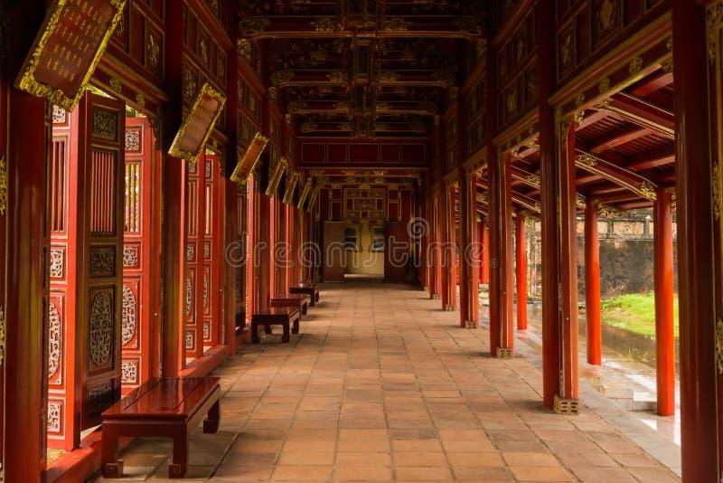 Palace gallery royalty free stock photos