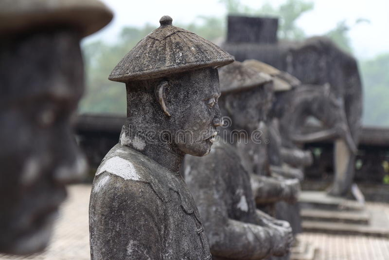 Hue, Vietnam : Tombe royale photographie stock