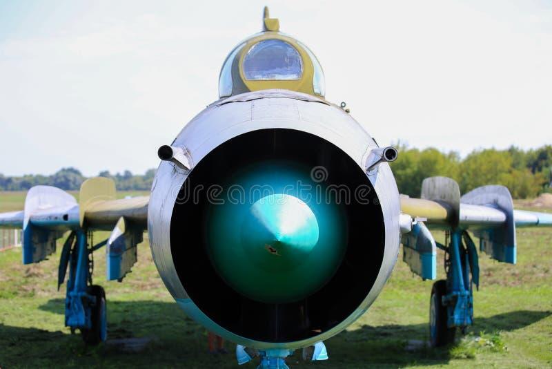 Huelga-combatiente del soviet SU-22 imagenes de archivo