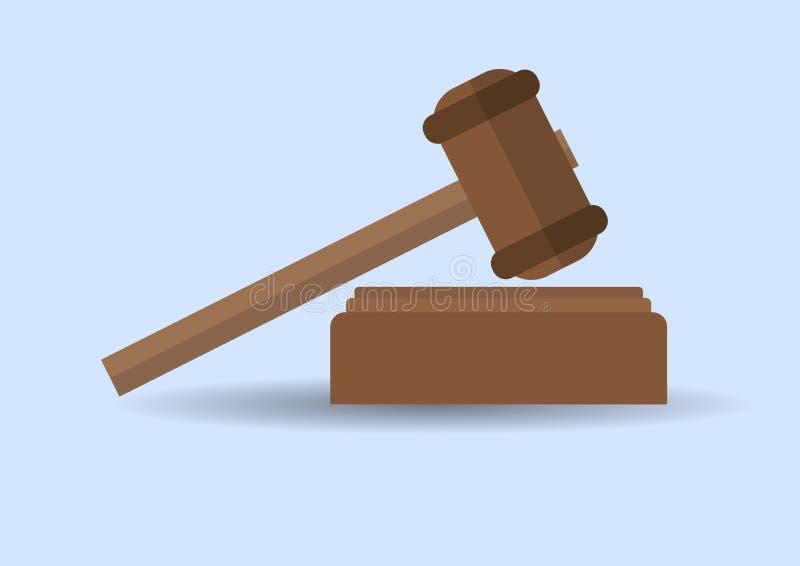 Huelga del martillo de la ley imágenes de archivo libres de regalías