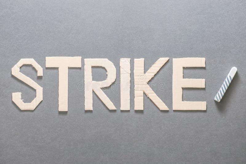 Huelga en el sector educativo fotos de archivo