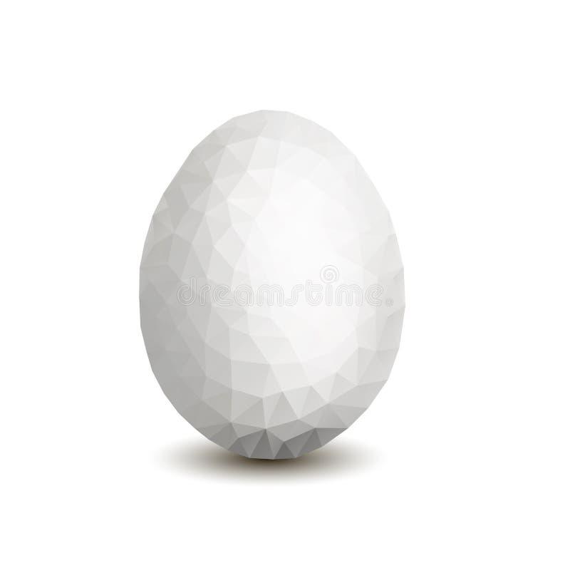 Huevo blanco fotos de archivo