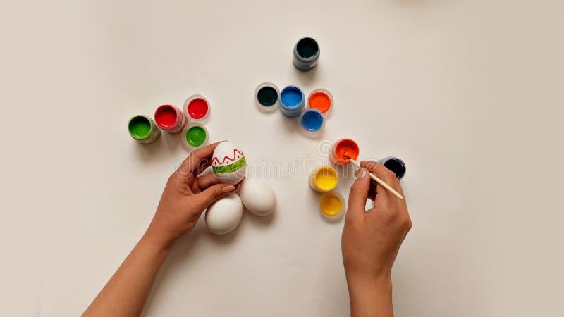 Huevo colorido foto de archivo
