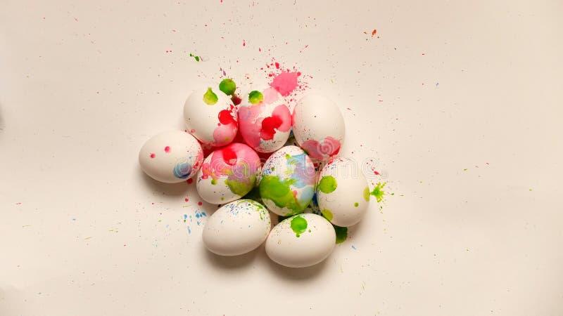 Huevo colorido foto de archivo libre de regalías
