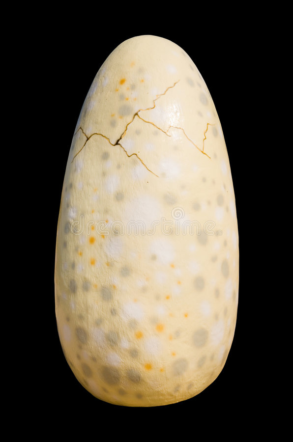 Huevo de dinosaurio imágenes de archivo libres de regalías