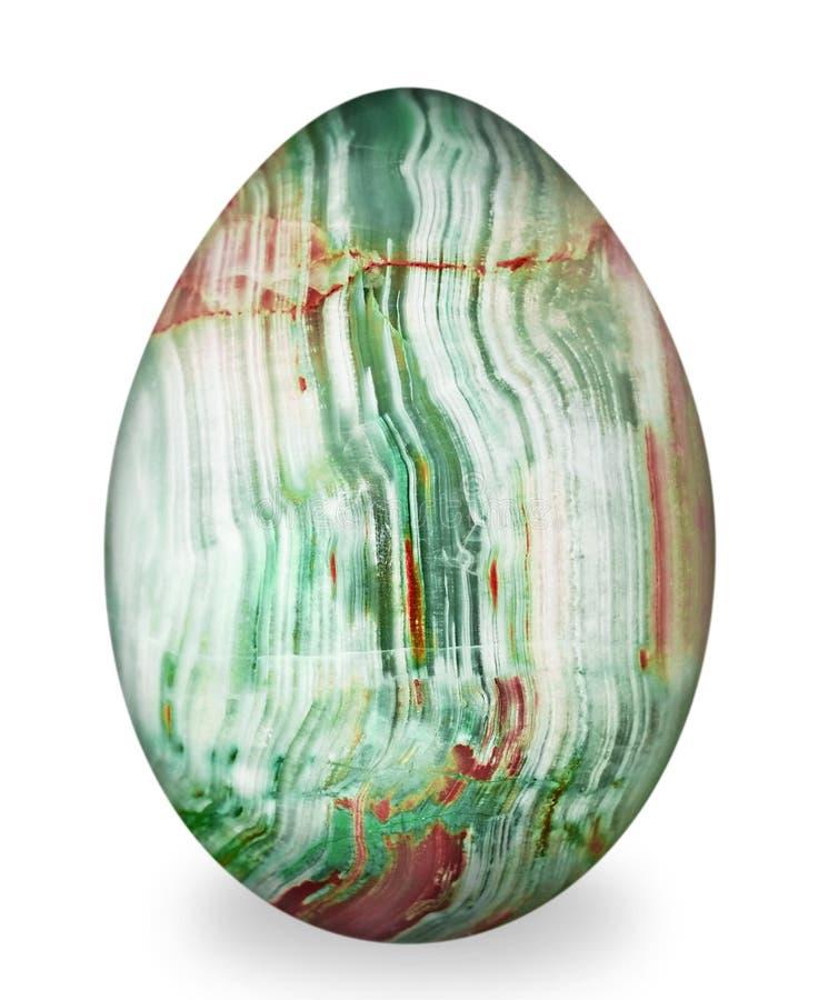 Huevo de la calcedonia. imagenes de archivo