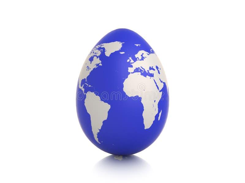 Huevo de la tierra libre illustration