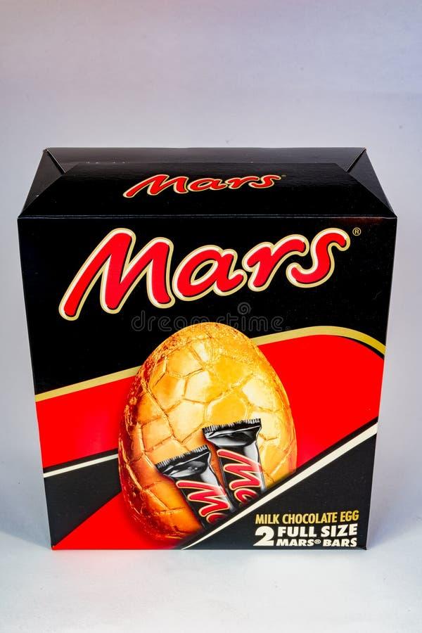 Huevo de Marte Pascua fotos de archivo