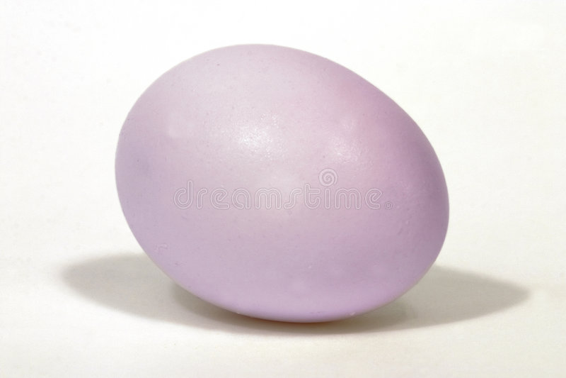 Huevo de Pascua (color de rosa) foto de archivo