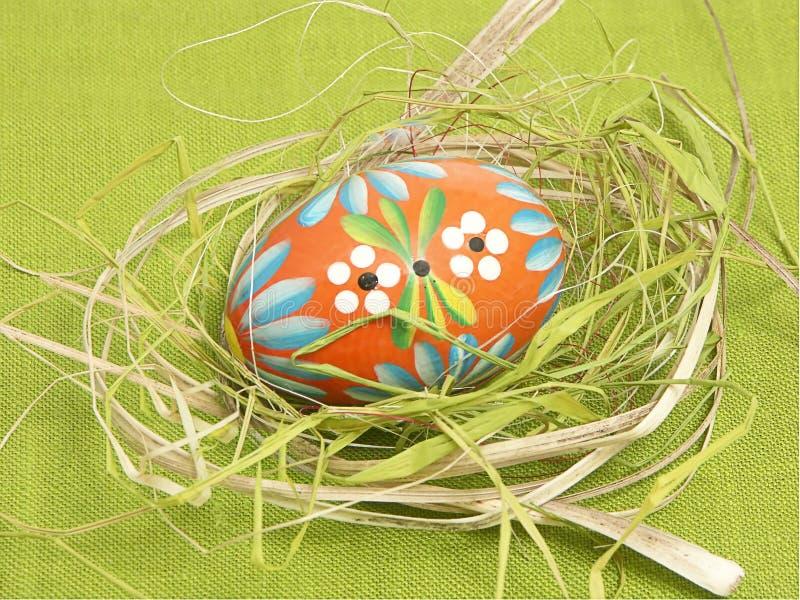 Huevo de Pascua jerarquizado fotografía de archivo libre de regalías