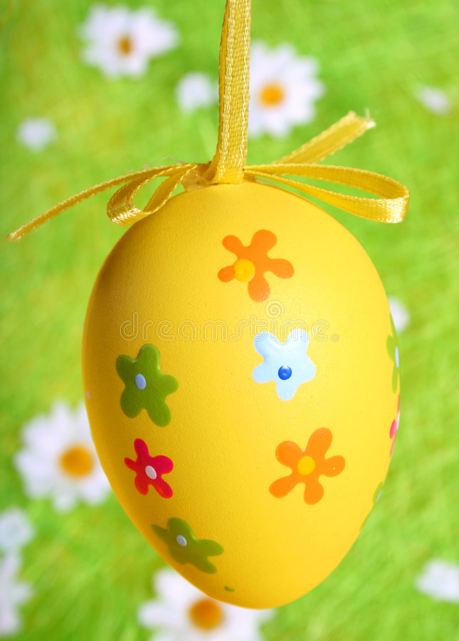 Huevo de Pascua pintado imagenes de archivo