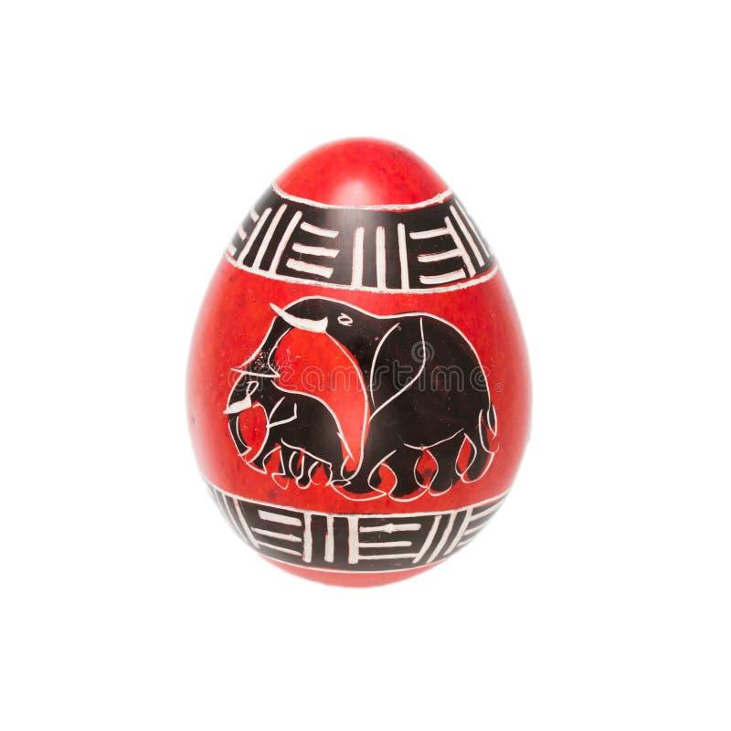 Huevo de piedra de la esteatita imagen de archivo