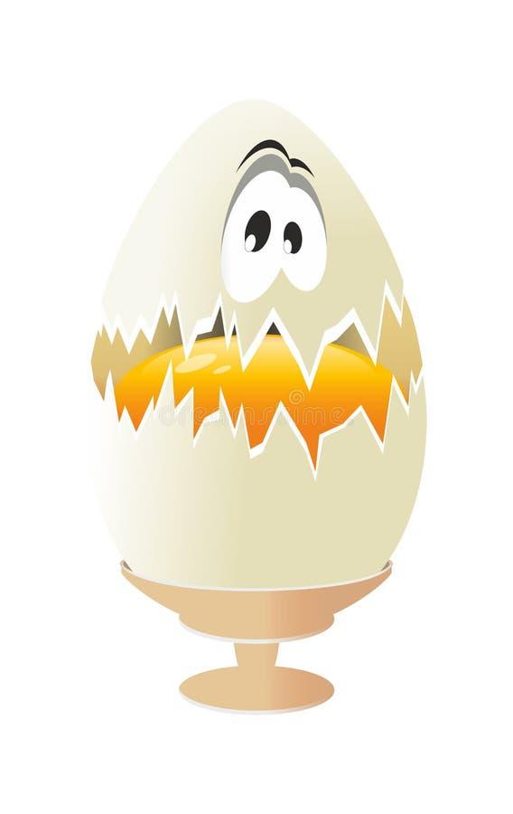 Huevo del vector aislado libre illustration
