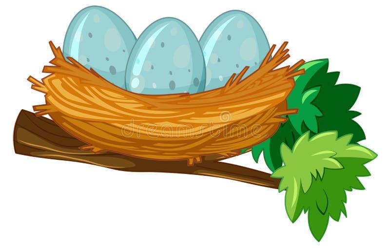 Huevo en la jerarquía ilustración del vector
