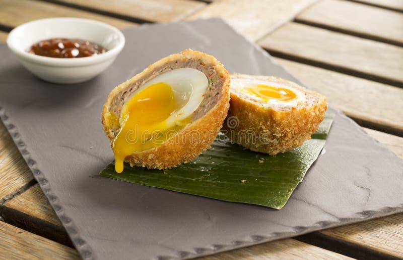 Huevo oriental de Duck Scotch imagen de archivo