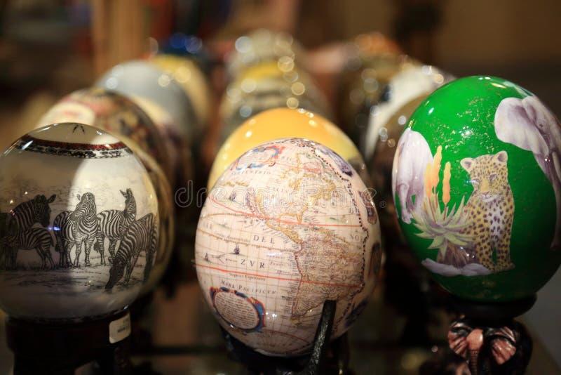 Huevos de la avestruz imagen de archivo libre de regalías