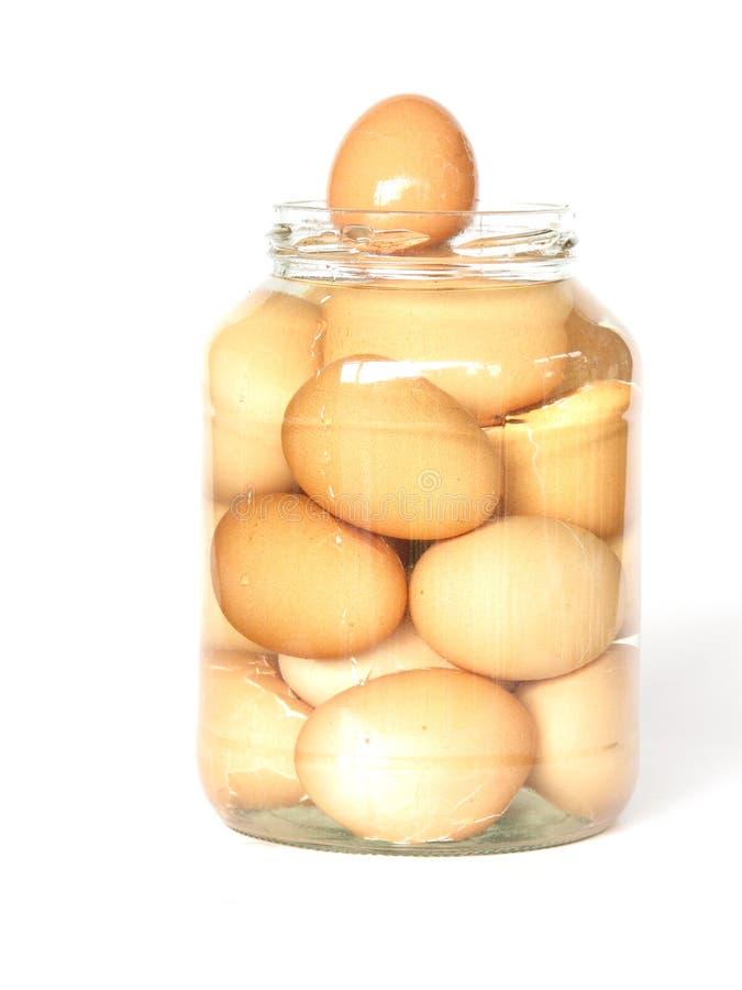 Huevos de la salmuera fotografía de archivo