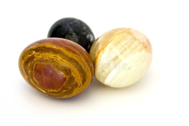 Huevos de mármol imagen de archivo libre de regalías