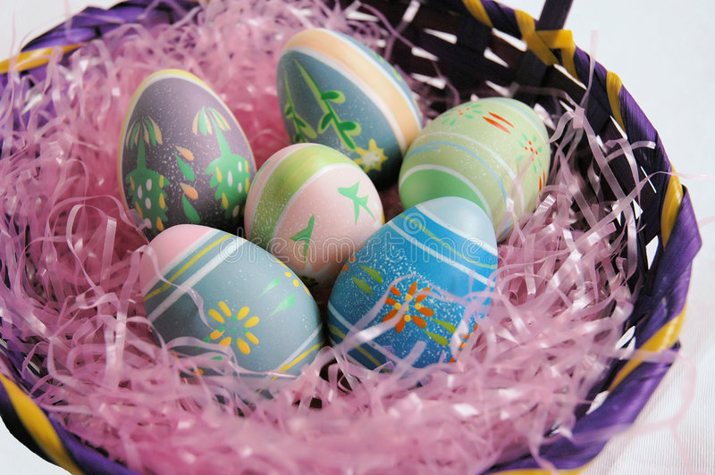 Download Huevos de Pascua imagen de archivo. Imagen de adorne, celebración - 1296631
