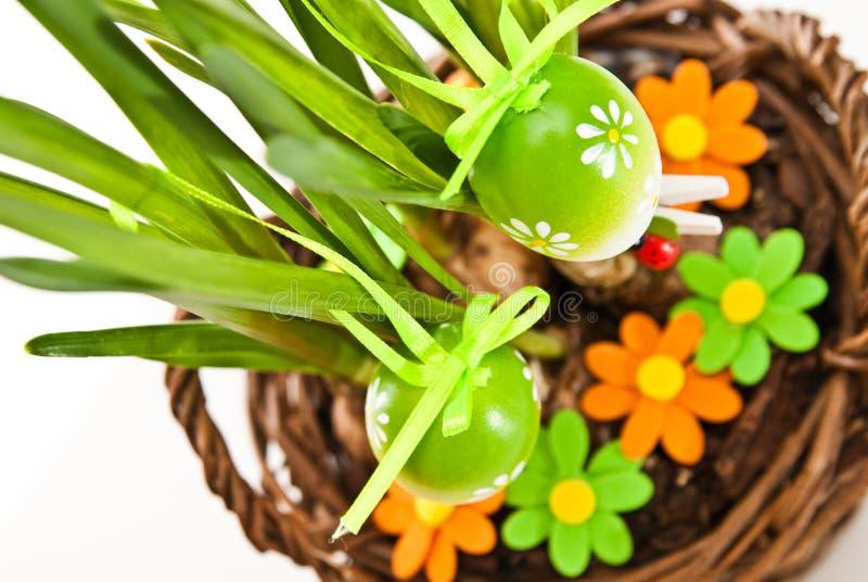 Huevos de Pascua imágenes de archivo libres de regalías