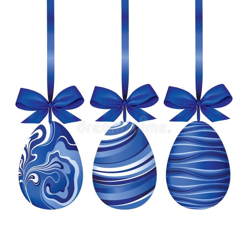 Huevos de Pascua. stock de ilustración