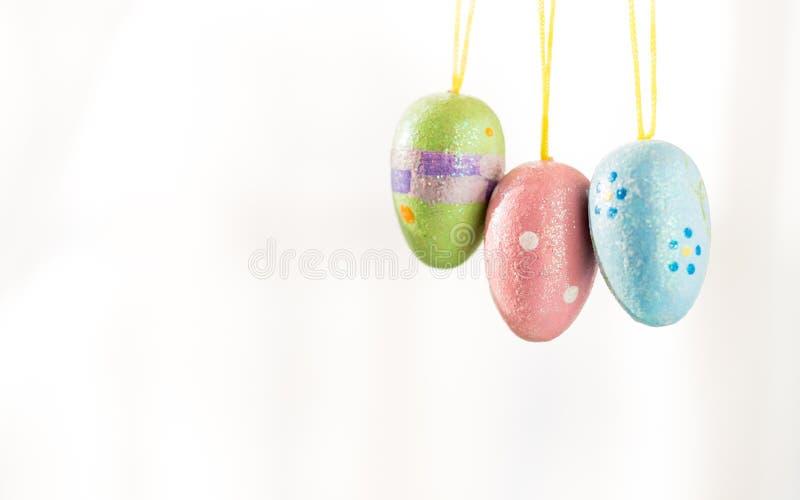 Huevos de Pascua adornados fotografía de archivo