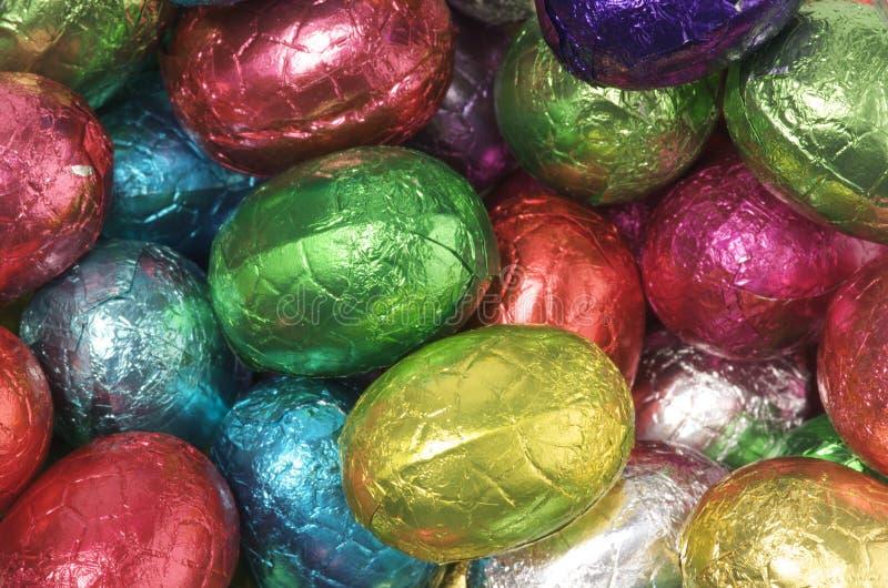 Huevos de Pascua coloridos fotos de archivo libres de regalías