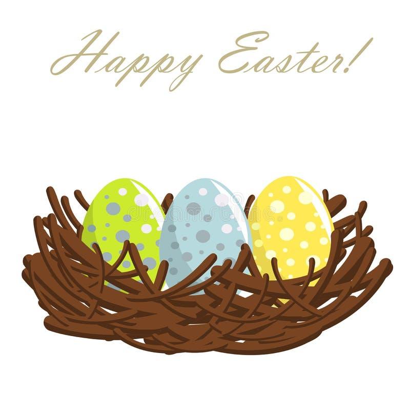 Huevos de Pascua en jerarquía libre illustration