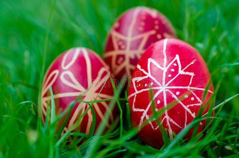 Huevos de Pascua, ¡s del tojà de Húsvéti imágenes de archivo libres de regalías