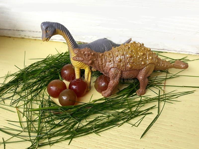 Huevos de protección despredadores del peligro salvaje de la naturaleza del dinosaurio imágenes de archivo libres de regalías