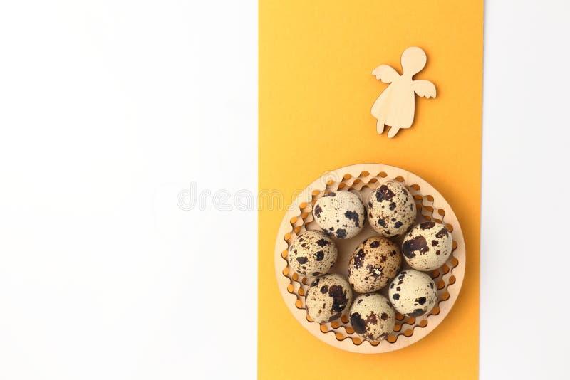 Huevos del ángel y de Pascua fotografía de archivo