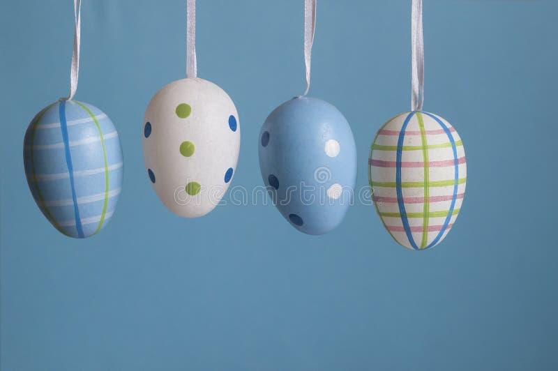 Huevos del color de Pascua imágenes de archivo libres de regalías