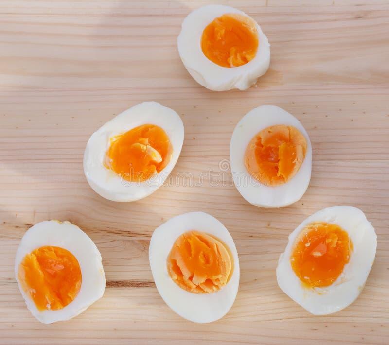 Huevos duros fotos de archivo