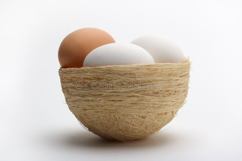 Download Huevos en la jerarquía 5 foto de archivo. Imagen de blanco - 1286716