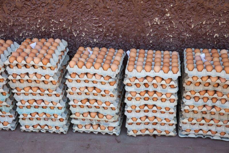 Huevos frescos foto de archivo libre de regalías