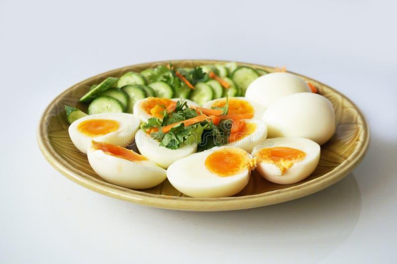 Huevos hervidos foto de archivo libre de regalías